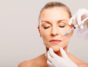 Anti-ageing injections with Botox